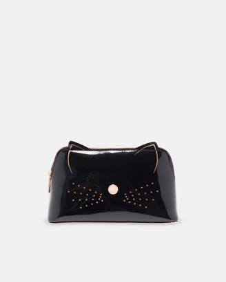 Ted Baker MACCOA Cat whiskers vinyl make up bag