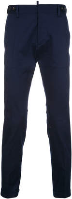 DSQUARED2 button waistband chinos