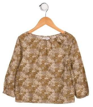 Caramel Baby & Child Girls' Printed Long Sleeve Top