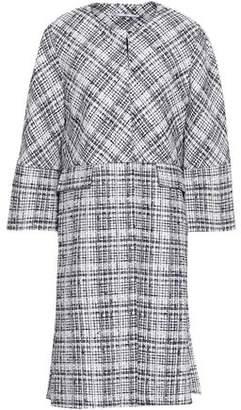 Rosetta Getty Cotton-Blend Tweed Coat