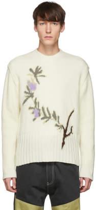 Jacquemus White La Maille Romarin Sweater
