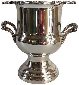 One Kings Lane Vintage Silver-Plate Champagne Bucket