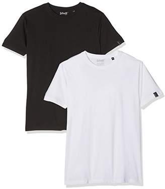 Schott NYC Men's Mc Logo Short Sleeve T-Shirt
