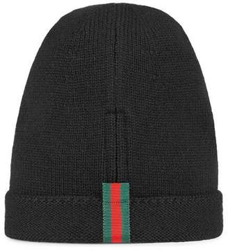 Gucci Wool hat with Web