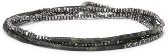M. Cohen Sterling Silver And Beaded Wrap Bracelet