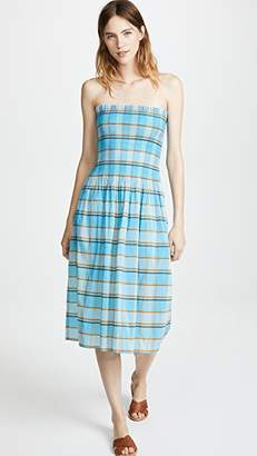Diane von Furstenberg Smocked Midi Dress