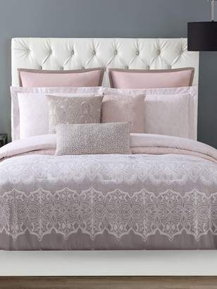 Christian Siriano New York Ombre Lace Comforter Set