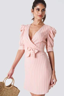 Trendyol Ballon Sleeve Midi Dress