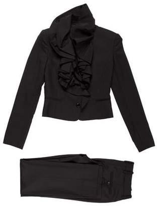 Dolce & Gabbana Wool-Blend Pant Suit