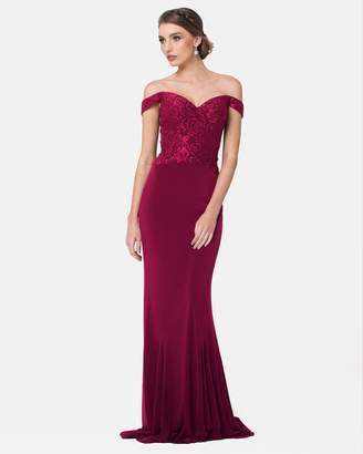 Off The Shoulder Formal Dress Shopstyle Australia