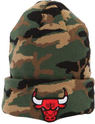 New Era Essential Chicago Bulls Camo Beanie Hat