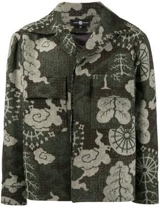 Edward Crutchley Falp Printed Front Pocket Jacket