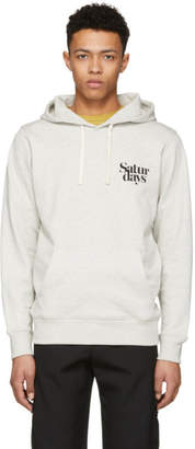 Saturdays NYC Grey Ditch Miller Logo Hoodie