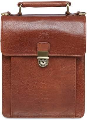 Mancini Arizona Leather Organizer Bag