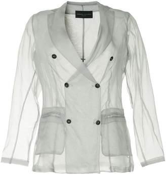 Fabiana Filippi sheer double breasted blazer