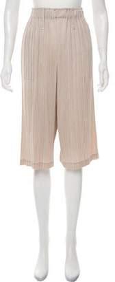 Pleats Please Issey Miyake Plissé Wide-Leg Pants