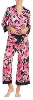 Kate Spade Floral-Print Capri Pyjamas