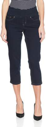 Jag Jeans Women's Peri Straight Pull on Crop