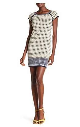 Max Studio Women's Print Cap Sleeve Dress