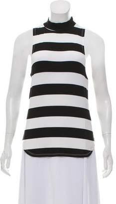 Frame Striped Sleeveless Top