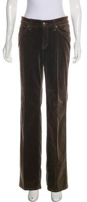 Cambio Mid-Rise Wide-Leg Pants