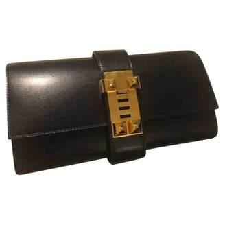 Hermes Médor Leather Clutch Bag