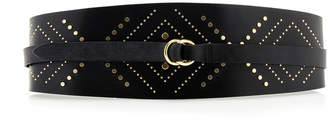 Isabel Marant Mini Studded Leather Belt
