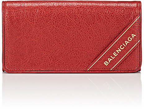 Balenciaga  Balenciaga Women's Arena Leather Blanket Money Wallet
