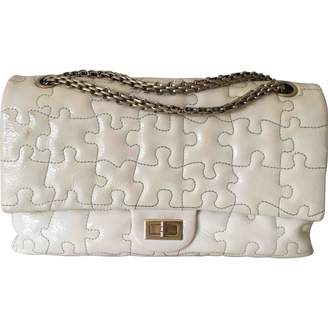 Chanel 2.55 Beige Patent leather Handbag