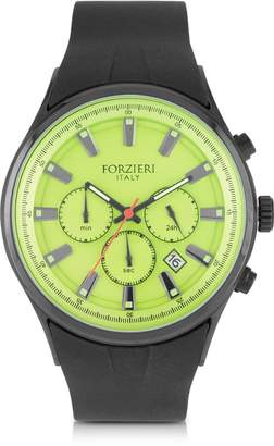 Forzieri Falcon Chrono Men's Watch w/Rubber Strap