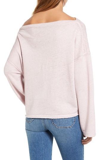 Women's Treasure & Bond Slouchy Fleece Pullover 2
