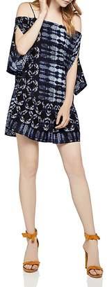 BCBGeneration Slit-Sleeve Cold-Shoulder Dress