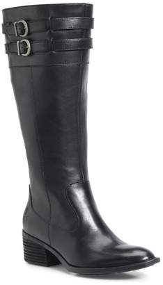 Børn Tay Block Heel Knee High Boot