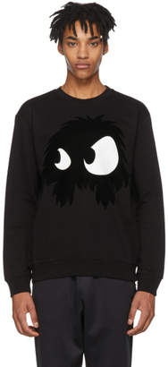 McQ Black Mad Chester Sweatshirt