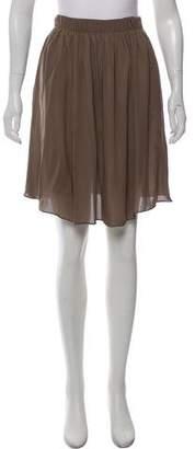Joseph Silk Knee-Length Skirt