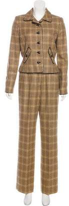 Oscar de la Renta Cashmere Three Piece Suit