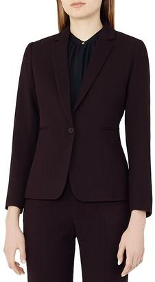 REISS Camila Textured Blazer $425 thestylecure.com