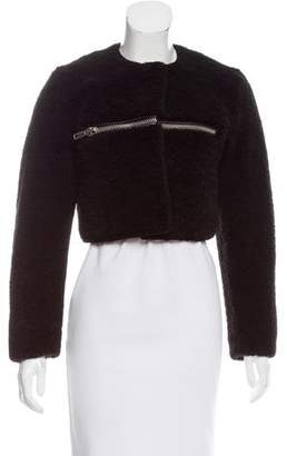 Alexander Wang Cropped Shearling Jacket w/ Tags