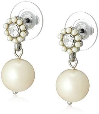 Carolee [キャロリー Heather Pearl Pierced Earrings 1646EP4178