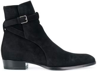 523c01c84551 Saint Laurent Signature Wyatt 30 Jodhpur boots