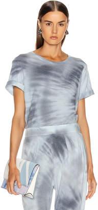 Raquel Allegra Boxy Tee in Lunar Tie Dye | FWRD