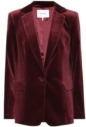 Frame Classic velvet blazer