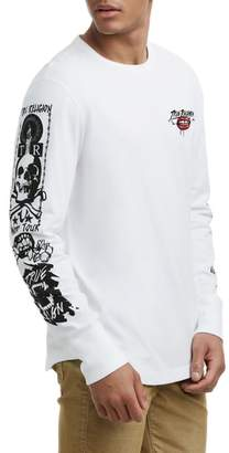 True Religion Brand Jeans Long Sleeve Graphic T-Shirt