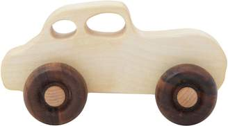 story. Wooden Wooden Retro Car