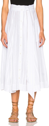 Lisa Marie Fernandez Beach Skirt $545 thestylecure.com