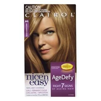 Clairol Nice'n Easy Age Defy Permanent Hair Colour 8G Medium Golden 1 pack