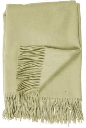 Yves Delorme Fringed Throw Blanket
