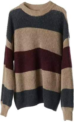 1585ae64121f9 ... Goodnight Macaroon  Jen  Color Block Crewneck Knitted Sweater