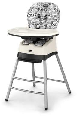 Chicco Chicco® StackTM 3-in-1 High Chair in Black/White