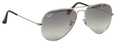 Ray-Ban silver metal 'Classic Aviator' sunglasses